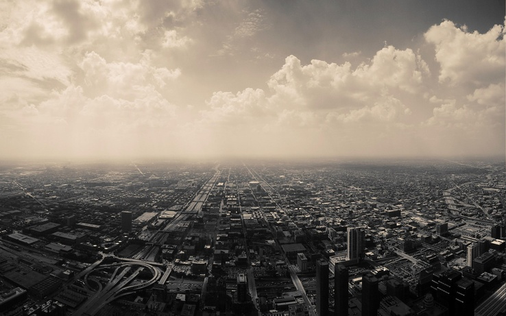768-clouds,nature,cityscapes,skyline,Chicago,architecture,urban,buildings,monochrome,cities.jpg