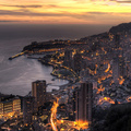 128164-landscapes,coast,cityscapes,architecture,buildings,Monaco,city lights