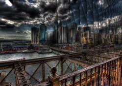 640680-clouds,cityscapes,ships,pier,buildings,New York City,boats,vehicles,HDR photography