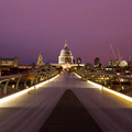 677156-cityscapes,London,hall,urban,citylights,Millennium Bridge,St