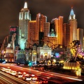 750266-Las Vegas,buildings,New York City,traffic lights,grand,lions,palms,cityscapes,night