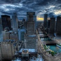 822099-cityscapes,Chicago,HDR photography