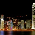 851024-night,urban,buildings,cities,hong kong bay,cityscapes