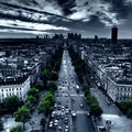 1285229-traffic,artwork,selective coloring,Paris,cityscapes,France