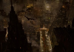 1356713-Batman,cityscapes,buildings,fantasy art,city lights,science fiction,artwork
