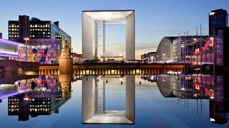 1431161-Paris,cityscapes,France,symmetry,Grande Arche,La Defense.jpg