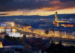 1440992-Italy,Florence,Ponte Vecchio,city skyline,cityscapes