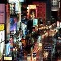 1442355-lights,New York City,Times Square,evening