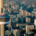 1446460-Canada,Toronto,aerial,CN Tower,cityscapes,world