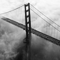 1450786-cityscapes,world,Golden Gate Bridge,California,San Francisco,monochrome