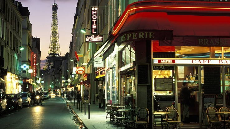 1497087-Paris,cityscapes,world,France,Neon Genesis Evangelion,Cafe,evening.jpg