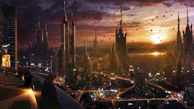 1523679-sunset,cityscapes,futuristic,balcony,people,traffic,skyscrapers,science fiction.jpg