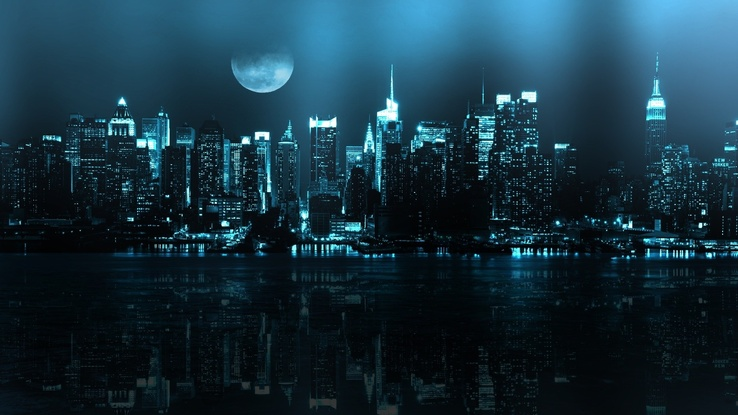 1566026-blue,cityscapes,Moon,buildings,New York City,rivers,reflections.jpg