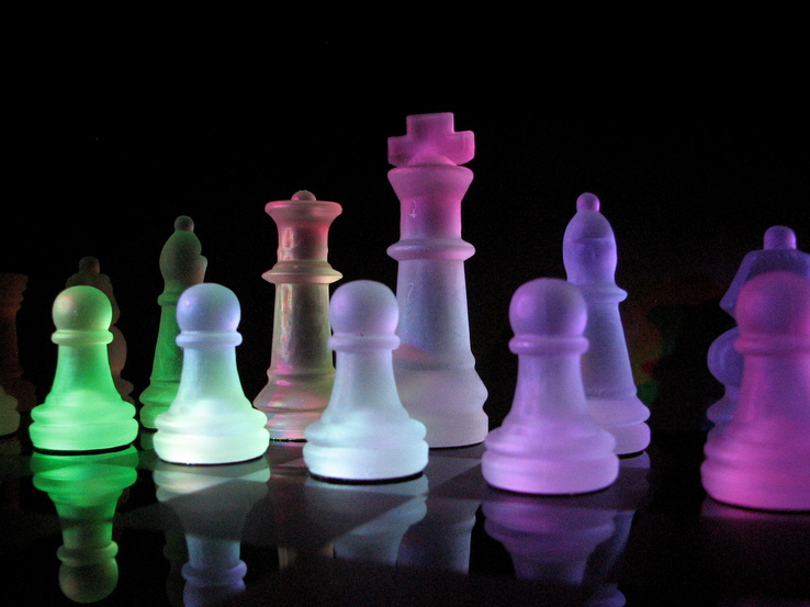 1518-glass,chess,rainbows,glass art.jpg