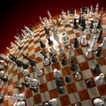 789147-3D view,chess,match