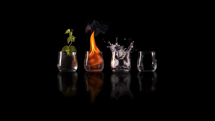 811534-water,nature,black,fire,Earth,glasses,cups,elements,creative,air,four elements,black background.jpg