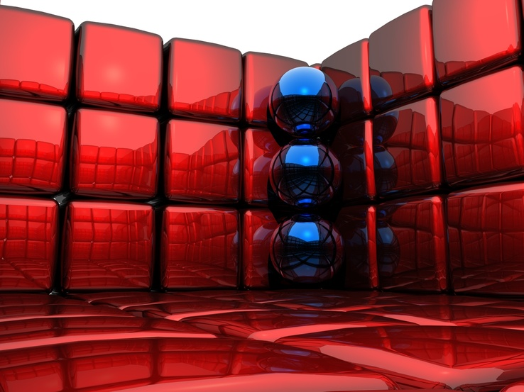 1007838-3D view,abstract,balls,cubes,3D render.jpg