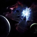 787431-outer space,stars,galaxies,planets,nebulae,bright