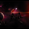 889171-planets,spaceships,asteroids,vehicles,space art,multiscreen