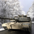 2560-winter,army,military,forest,Germany,m1a1,Abrams,tanks