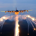513794-aircraft,planes,flares,skyscapes