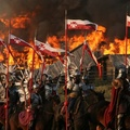 568846-war,army,Poland,horsemen,Polish Army,Polish Hussar,fire dancing