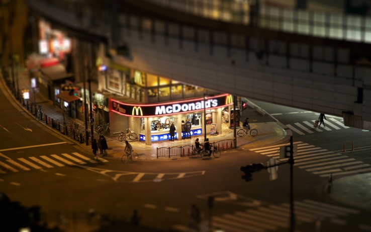 1576606-cityscapes,corner,bicycles,McDonalds,tilt-shift.jpg