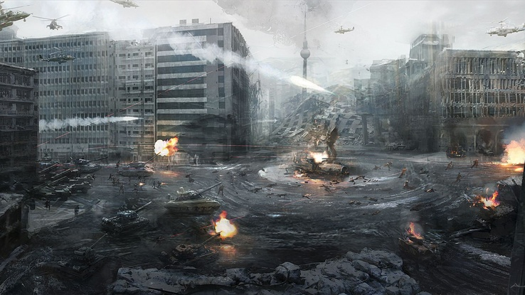 1616509-video games,war,ruins,cityscapes,military,tanks,artwork,Call Of Duty Modern Warfare 3.jpg