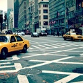 1634673-New York City,taxi,crossovers,sidewalks,cityscapes,streets,urban,USA,traffic