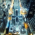 1681443-cityscapes,night,New York City,cathedral,skyscapes