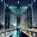 1727705-cityscapes,night,lights,bridges,Brooklyn Bridge,New York City