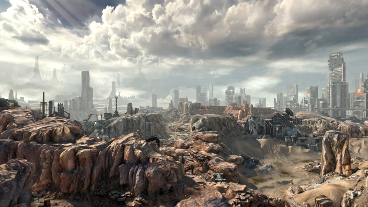 1732513-dead end thrills,video games,landscapes,ruins,post-apocalyptic,desert,rocks,stones,apocalypse,Rage (Video Game),desert city.jpg