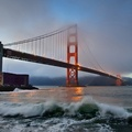 1743386-water,cityscapes,fog,bridges,Golden Gate Bridge,town,San Francisco