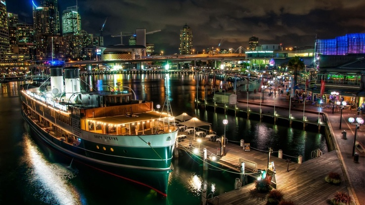 1743491-night,Sydney,city lights,HDR photography,port,town view.jpg