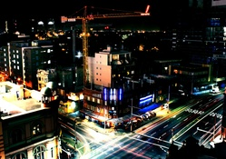 1834560-cityscapes,dark,night,lights,multicolor,buildings,Sydney,roads,city lights,nighttime,city skyline,Crane,colors,colouful