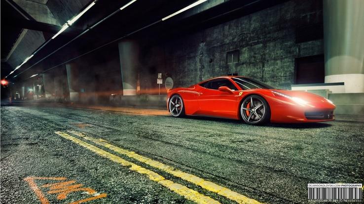 Ferrari 458 Italia Hd Duvar Kağıdı Resim Wallpaper