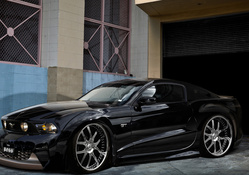 Ford Mustang Dark Knight