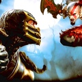 Mortal Kombat Scorpion vs Kratos