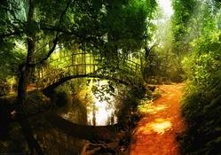 Yeşil Doğa manzarası 2