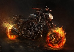 Ghost Rider motosiklet