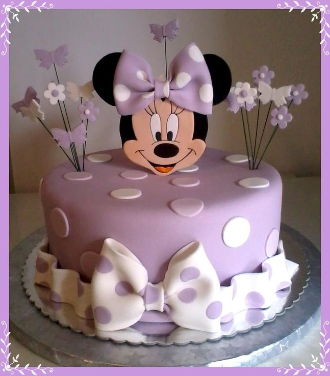 Minnie Mouse Baş Pastası Resim Wallpaper G 252 Zel
