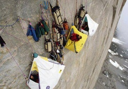 Extreme Camping and Rock Climbing